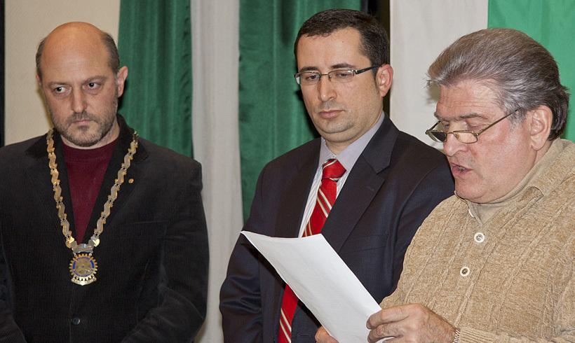 Михаил Кьосев е най-новият член на Ротари клуб Пловдив Пълдин