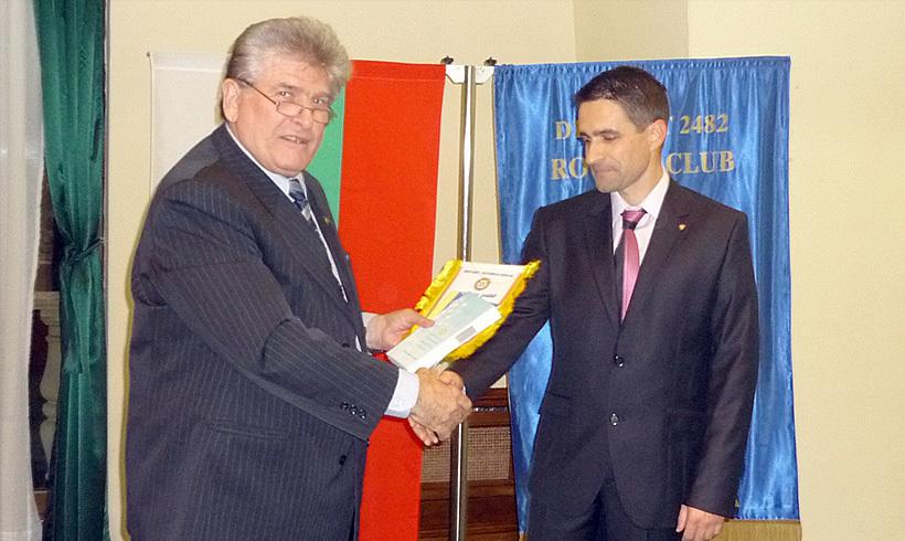Още един член на Ротари клуб Пловдив Пълдин – Иван Илиев