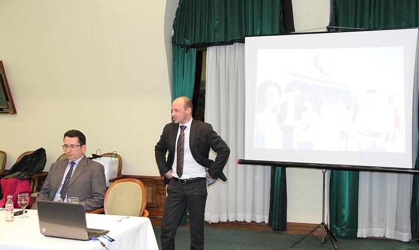 Представяне на Михаил Кьосев и новата програма на СИБанк