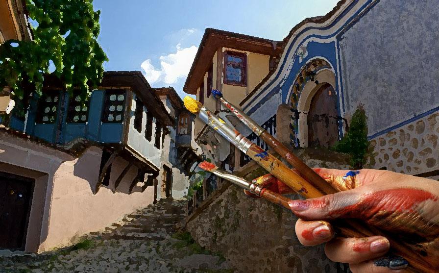 Международен пленер по живопис в Пловдив. Пловдив - от Твореца сътворен