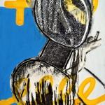 """Картина от изложба """"Homo Ludens"""", Кольо Карамфилов"""