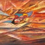 Картинаот изложба на Никола Манев