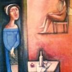 Attente, картина на Тигран Сукиашян