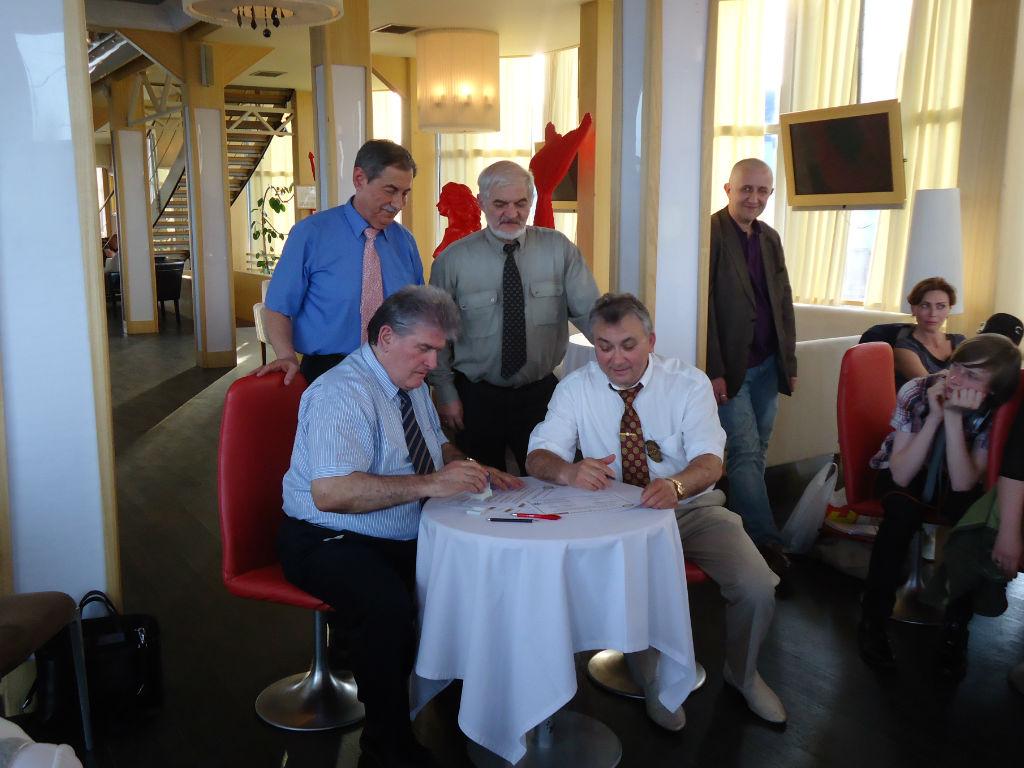 Официално подписване на договор за побратимяване
