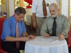 Подписване на договора и от съпредседателите на Комитета Българи-Русия