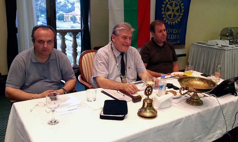 Отчет на борда за мандата 2012-2013 с Президент Кирчо Атанасов