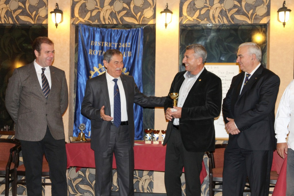 First place  Svetozar Penchev