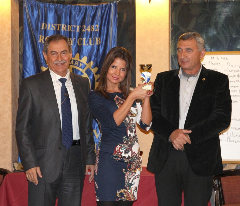 Third place Alex Atanasova