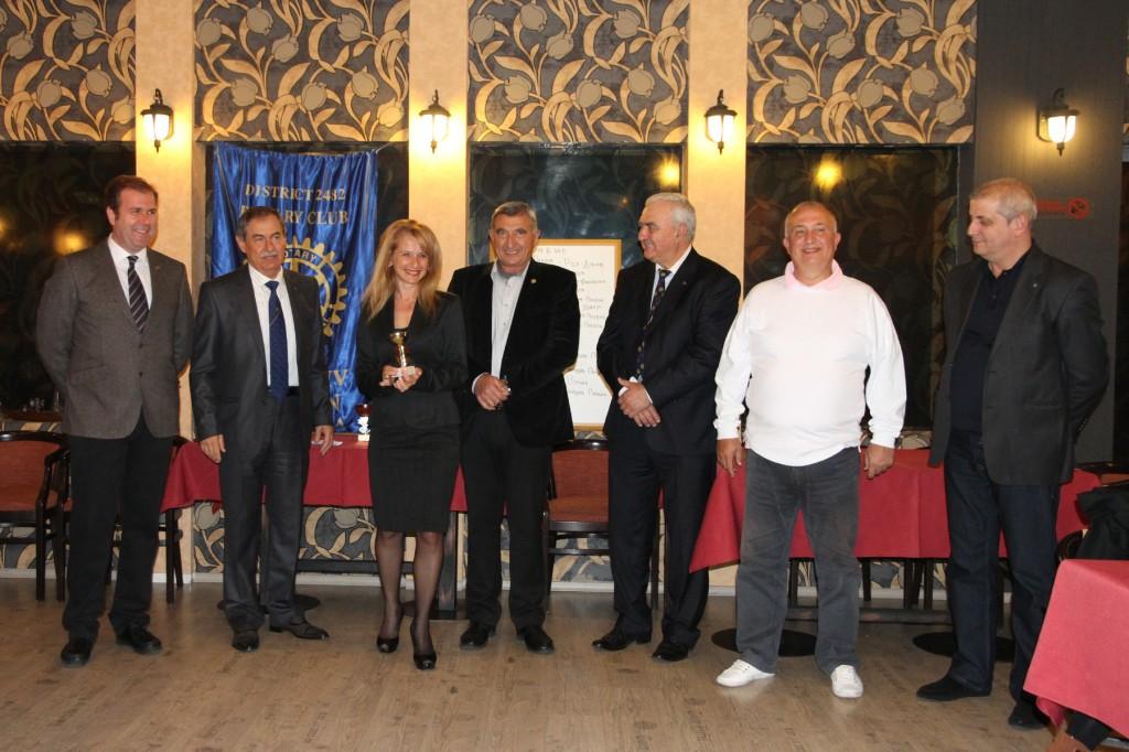 Second place Aneta Popova