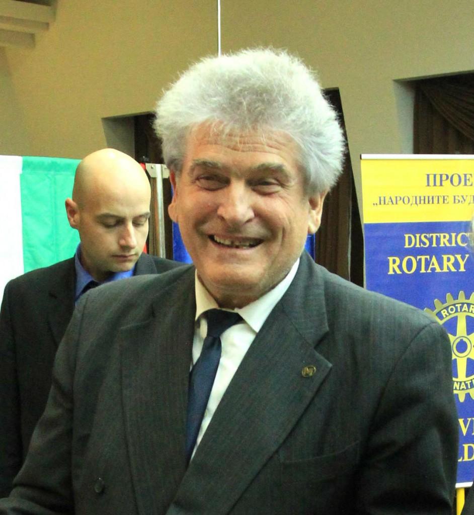 доц. Кирчо Атанасов, ръководител на проекта Народните будители и Аз