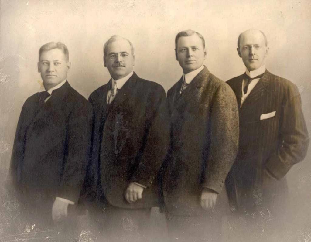 The-Original-Four-Rotarians
