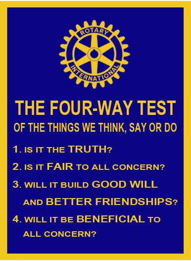 fourway test