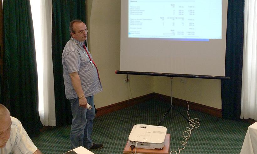 Представяне на Плана за работа и комисиите през ротарианската 2014-2015 година