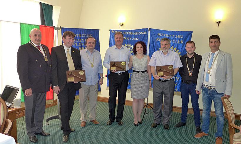Церемония по предаване на огърлиците 2014 година