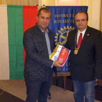 Gesho Geshev is the new member of Rotary Club Plovdiv-Puldin
