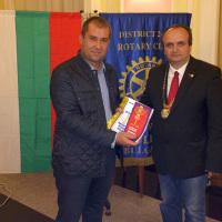 Gesho Geshev is the new member of Rotary Club Plovdiv-Puldin