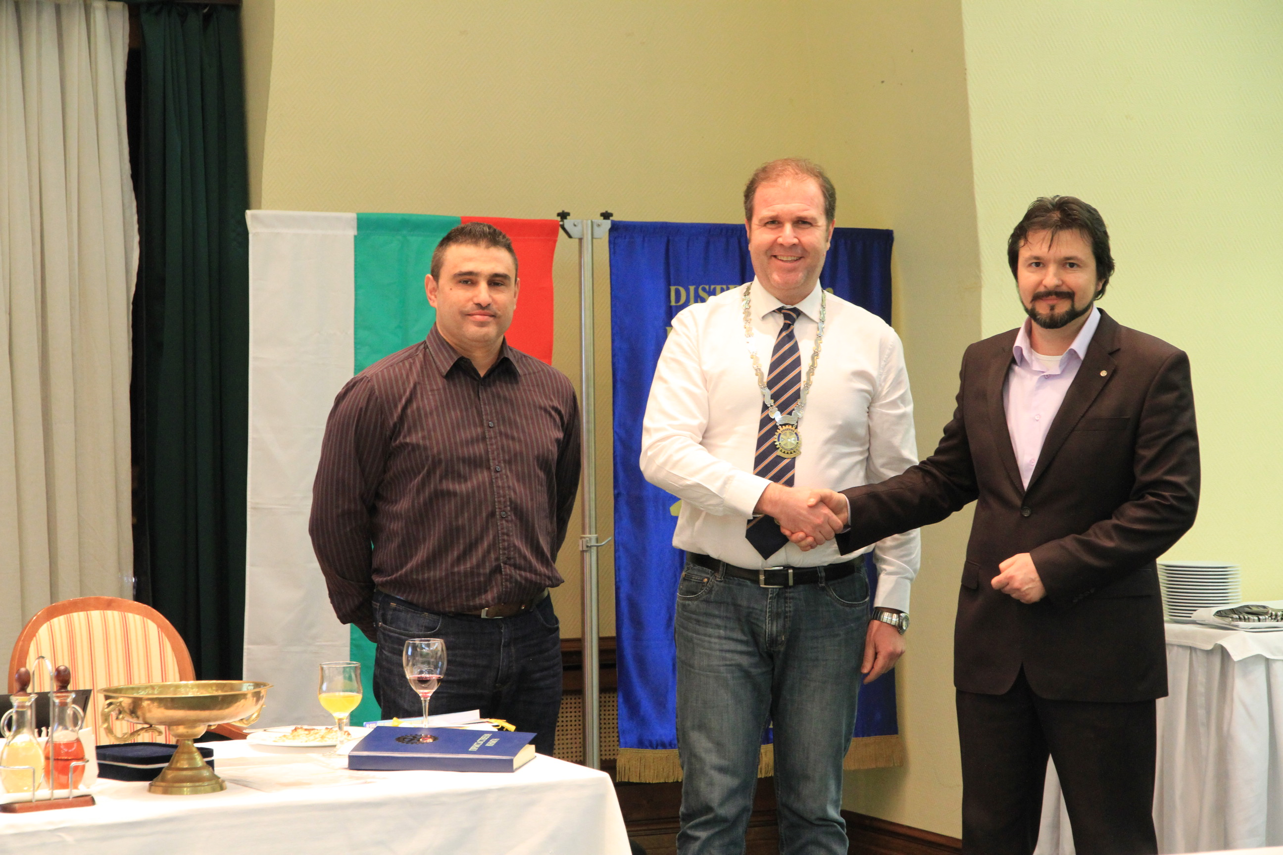 Attorney Asen Delchev is the new member of Rotary Club Plovdiv Puldin