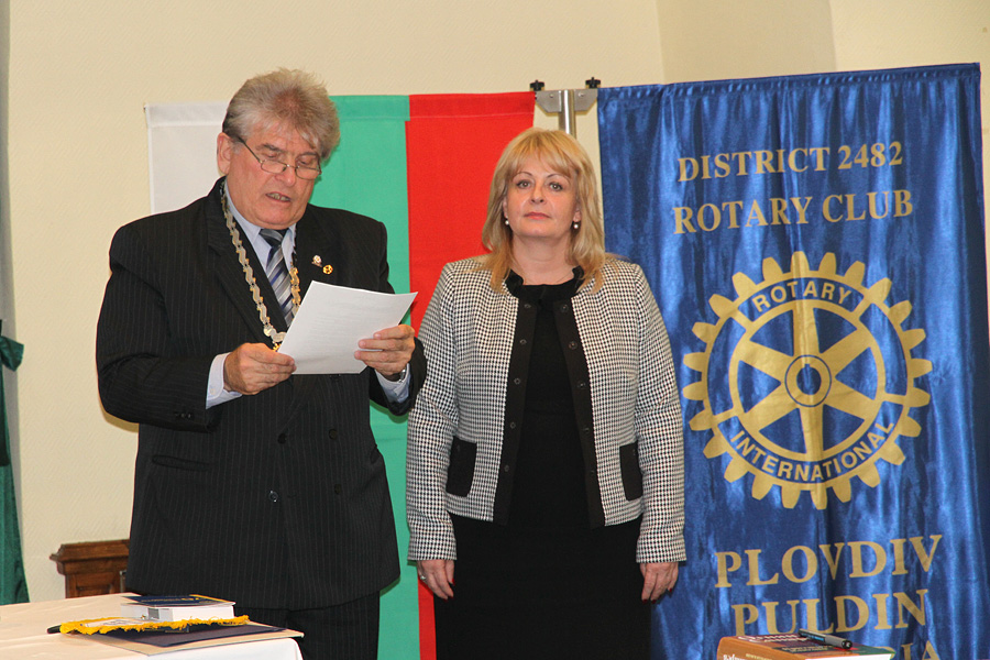 Mariana Andreeva is the new member of Rotary Club Plovdiv Puldin