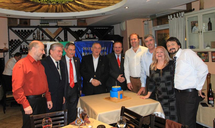 Запомняща се 13-та годишнина отпразнува Ротари клуб Пловдив Пълдин
