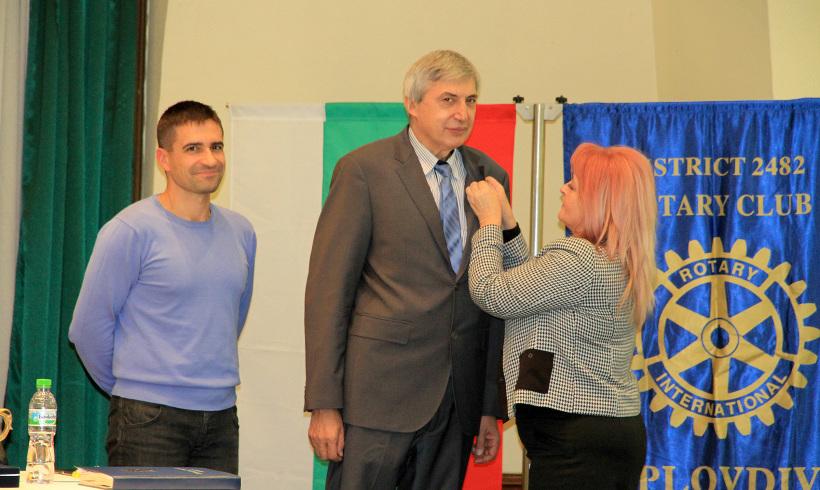 Доц. д-р Красимир Коев е член на РК Пловдив Пълдин