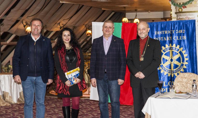 Ралица Стайкова стана член на клуба в присъствието на Дистрикт Гуверньора