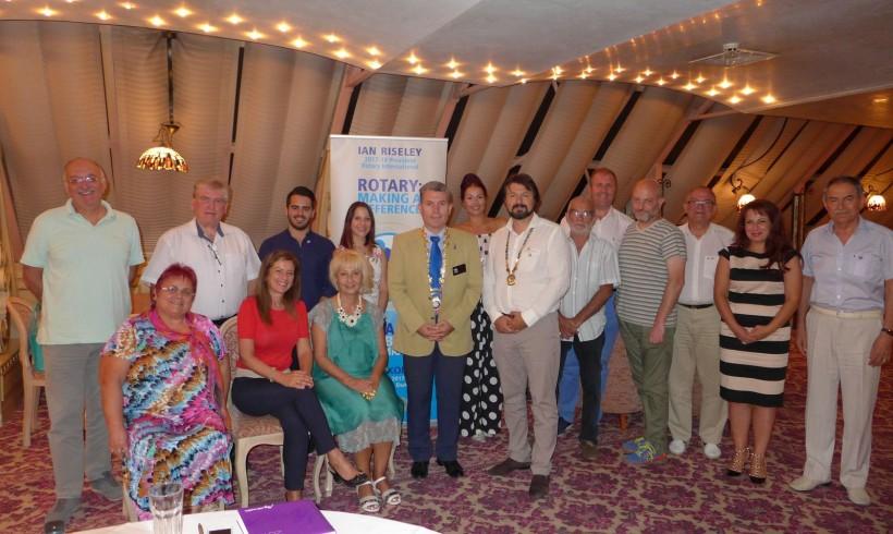Посещение на Гуверньора на Дистрикт 2482 България – Емил Коцев
