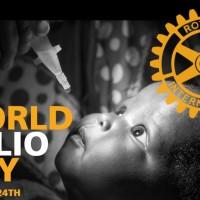 Среща в Ротари парка в подкрепа на Световния ден за борба с полиомиелита